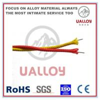 Buy cheap Fiberglass Insulated N Type Thermocouple Cable from wholesalers