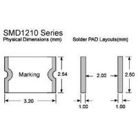 Buy cheap Intelligent Fuse SMD1206 Series PPTC from wholesalers