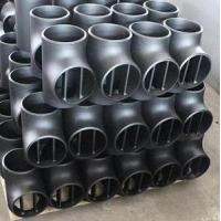 Buy cheap ASTM A234 WPB Barred Tee, ANSI B16.9, Butt Weld from wholesalers