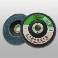 Buy cheap ZF100 ZF-Zirconia Flap Disc (Fiber Backing) from wholesalers