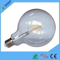 Buy cheap 4W G125 Filament Lightbulb Type With Clear Or Amber Glass from wholesalers
