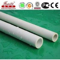 25mm white / green ppr pipes fittings for hot and cold water supply