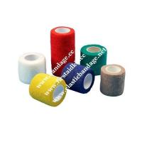 Buy cheap Nonwoven printed cohesive elastic bandage from wholesalers
