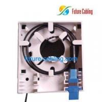Buy cheap 2-Fiber FTTH Socket Panel, Can be Loaded with 2 SC Fiber Optic Adapters from wholesalers