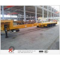 Buy cheap extendable lowboy with air bag suspension trailer from wholesalers