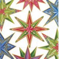 Buy cheap Jeweled Stars white Paper Cocktail Napkins - 20 per package from wholesalers