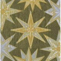 Buy cheap Jeweled Stars metallic Paper Cocktail Napkins - 20 per package from wholesalers