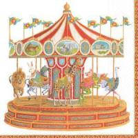 Buy cheap Carousel Paper Luncheon Napkins - 20 per package from wholesalers