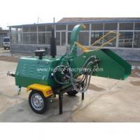 Buy cheap Trailer mounted self powered wood chipper from wholesalers