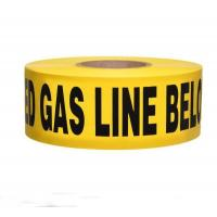 Buy cheap PE Underground Warning Tape for Gas Line from wholesalers