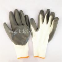 Buy cheap grey nitrile coated glove from wholesalers
