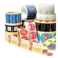 Buy cheap Gold Foil Adhesive Label product