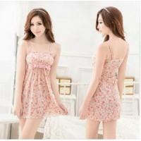Buy cheap manufacturer wholesale 2014 cute padded flower babydoll lingerie accept OEM A80410 from wholesalers