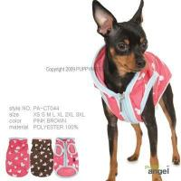 Buy cheap Puppy Angel Sprinkle Hearts Dog Raincoat - pink from wholesalers