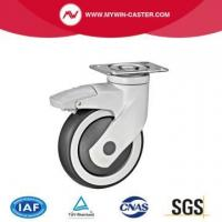 Buy cheap Plaet Braked Tpr Medical Castor Wheel from wholesalers