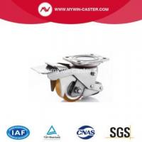 Buy cheap Aluminum Alloy PU Auto Adjustable Caster from wholesalers