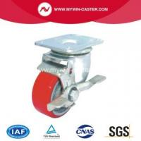 Buy cheap Top Plate Side Brake Industrial Caster from wholesalers