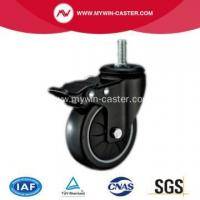 Buy cheap PU Thread Stem Swivel Industrial Caster from wholesalers