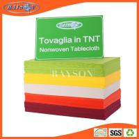 Buy cheap non woven tnt tablecloth in roll one time use from