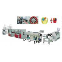 Buy cheap Conical Twin Screw Plastic Extruder PE Carbon Spiral Reinforce Pipe Extrusion Line from wholesalers