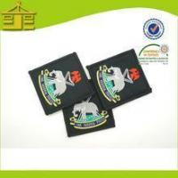 Buy cheap Badge Hot Sale Lovely Name Woven Badge For Hats By Quanyu from wholesalers