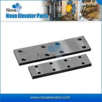 Buy cheap Elevator Fishplate for T45/A T50/A Cold Drawn Elevator Guide Rail from wholesalers