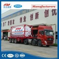 Buy cheap 20ft Lox Lin Lar LNG Lco2 Tank Container Asme T75 ISO Tank Container For Liquid Gas from wholesalers