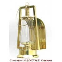 Buy cheap W.T. Kirkman No. 0 Tubular Brass Wall Reflector Lantern from Wholesalers