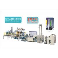 Buy cheap PET/PLA Twin-Screw Sheet Co-Extruder PET/PLA Twin-Screw Sheet Co-Extruder from wholesalers