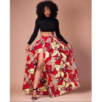 Buy cheap Floral Print Slip Up Lady Fashion Skirt #sc103 from wholesalers