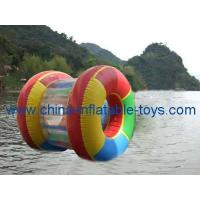 Buy cheap water games inflatable colorful water roller-WG-042 from wholesalers