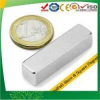 Buy cheap N38H Neodymium Magnet For Linear Motor from wholesalers
