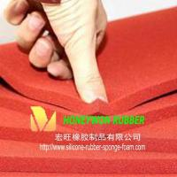 Buy cheap Soft Closed Cell Silicone Rubber Foam Mat HW065 from wholesalers