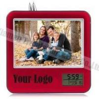 Buy cheap couples alarm clock funny pictures/picture frame desk clock from wholesalers