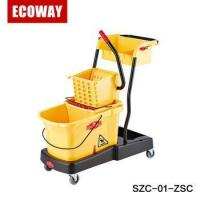 Buy cheap commercial hotel housekeeping trolley hotel carts for cleaning from wholesalers