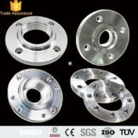 Buy cheap Custom 5 Axis CNC Turning Stainless Steel Flange Parts from wholesalers