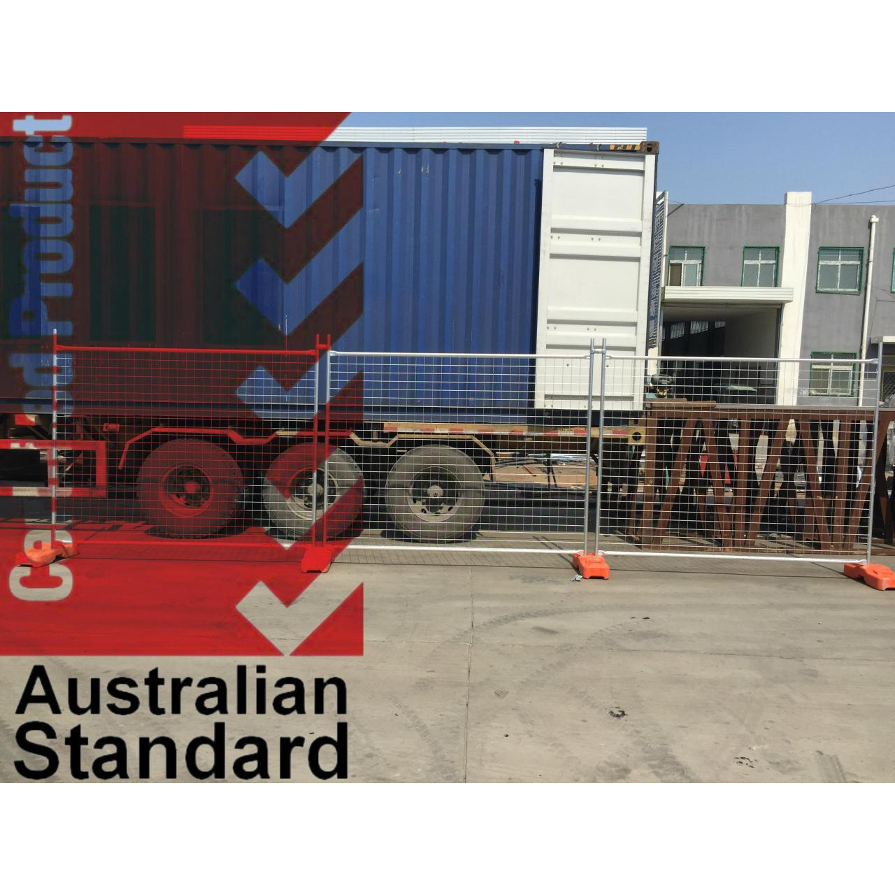 Buy cheap Economic Temporary Fence For Sales Business -17 Microns Zinc Layer HDG before Weld product