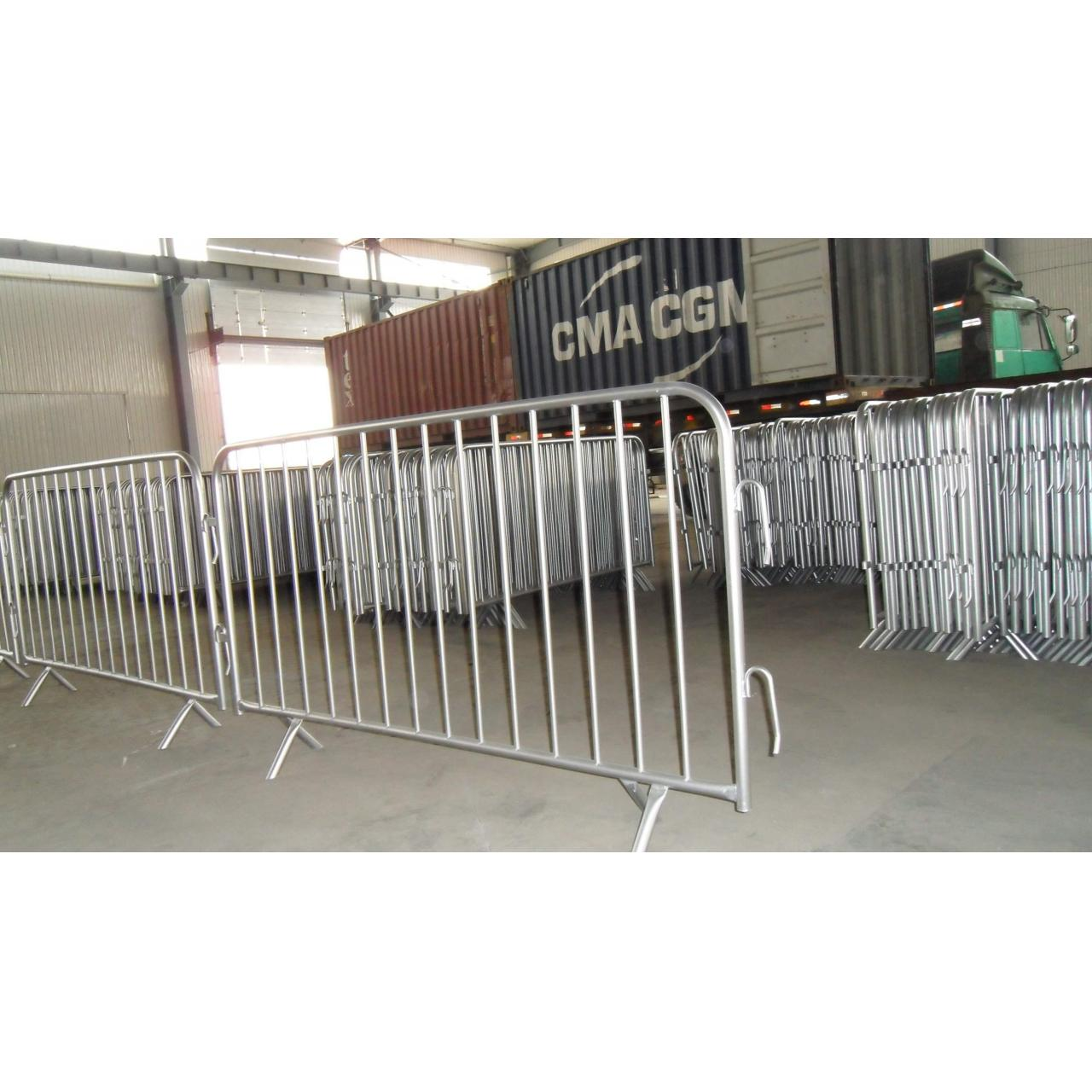 Buy cheap Hot Sale Quality Galvanized Safety fence heavy duty crowd control barricade from wholesalers
