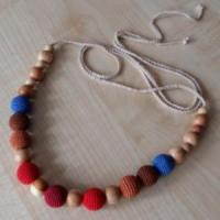 Nursing teething necklace popular nursing teething necklace for When can babies wear jewelry