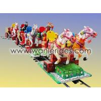 Buy cheap Amusement train rides horse train rides WLPM-06 from wholesalers