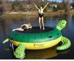 Buy cheap kids inflatable water float sea turtle trampoline-WG-048 from wholesalers