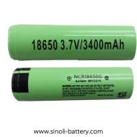 Buy cheap Non Rechargeable Batteries 3400mAh 18650 3.7V Lithium Ion Batteries from wholesalers