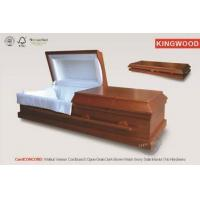 Buy cheap CONCORD Flated Cardboard Casket Hardware adult wooden funeral coffin prices from wholesalers