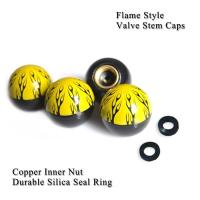 Buy cheap Dreamer Car Mistubishi Flame Tire Valve Caps SKU: 7153-A from wholesalers