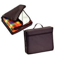 Buy cheap Tartan Picnic Blanket In A Nylon Carry Bag from wholesalers
