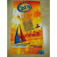 Buy cheap Customized Microfiber Reactive Printed Beach Towel from wholesalers