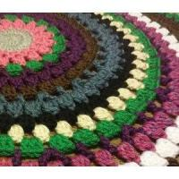 Buy cheap Circle Afghan Blanket, Round Throw, Heavy Blanket product