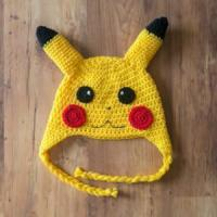 Buy cheap Pikachu Crochet Hat, Pickachu Beanie, Milk Cotton Pokemon Hat product