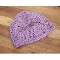 Buy cheap Children Crochet Hat Lace Tam Pruple Women Mesh Hat product