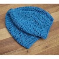 Buy cheap Children Crochet Hat Lace Tam Blue Women Mesh Hat product